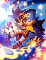 Mario RPG - Geno and Mallow by GENZOMAN