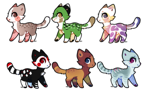Kitty Adoptables: 1 LEFT (PRICE REDUCED) by Metals-Adopts