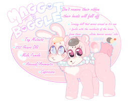 MAGGOT + BOGGLE *COMMISSION* | REFERENCE SHEET by SSADMACHINE