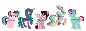 Assorted Grid Adopts by ficklepickle9421