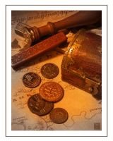 Middle Earth Trappings I by timshinn73