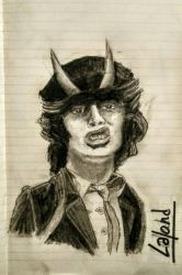 Angus Young by Darkevor