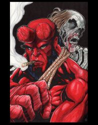 Hellboy by joriley