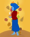 Autumn and Lapis by popinat