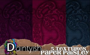 paper paisley by daintyish