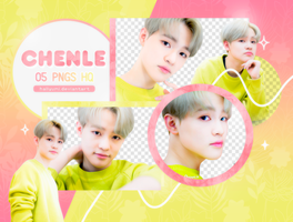 PNG PACK: Chenle #1 by Hallyumi