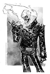 Ghost Rider/inks by rogercruz