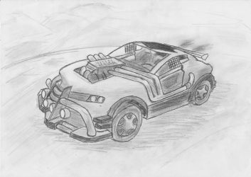 FUEL car xD by DWito9