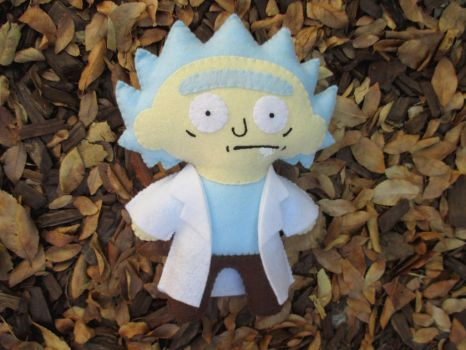 Rickity Rick Plush by P-isfor-Plushes