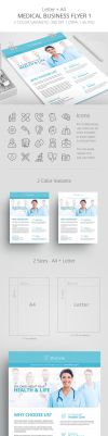 Medical Business Flyer Template 1 by survivorcz