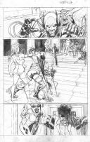 Batman Crucifixion pg. 1. by JoeRuff