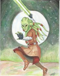 Kit Fisto by ErinDromeda
