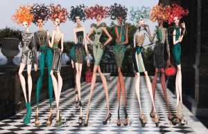 Malachite Collection ss 2013 by frozen-winter-prince