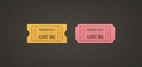 Admit One Ticket Stubs by ormanclark
