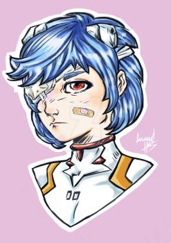The First Child: Rei Ayanami by LucaNnoCorE