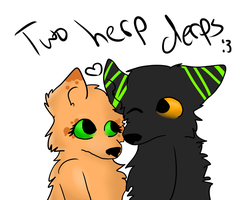 Two Lobing Herpderps by iW-O-L-F