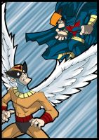 Birdman Vs Blue Falcon by tejieboy