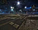 Roundabout in Krakow by kubica