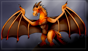 it's Wyvern by FanDragonBrigitha