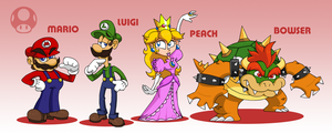 SMASH - Mario Team by professorfandango