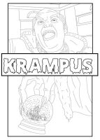 Krampus Coloring Book by Pi-Zazz