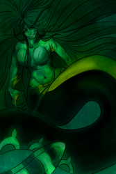 Mer-Sarah by MacabreMenagerie