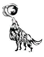 Howling Wolf Tribal by ChronoPhoenix