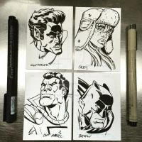 Some sketchcards by ShawnAtkinson