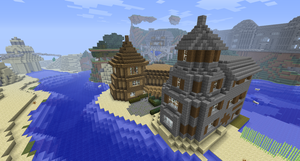 Minecraft Houses by Cosmic155