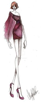 Fashion Sketch 07 by my-beret-is-red