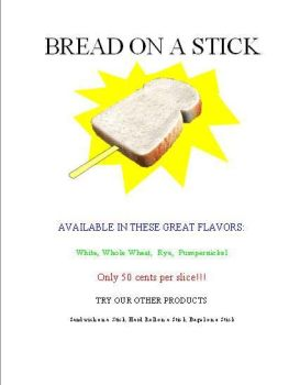 Bread on a Stick by PlayerBill
