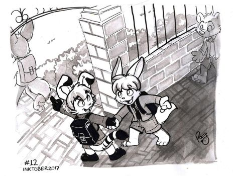 Inktober 2017 Day 12 by pandapaco