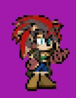 Xx.:Sprite Practice 1#:Syreen The Hedgehog.:xX by Choco-Killer