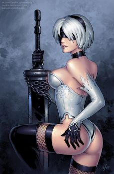 2B (SFW version) by Candra