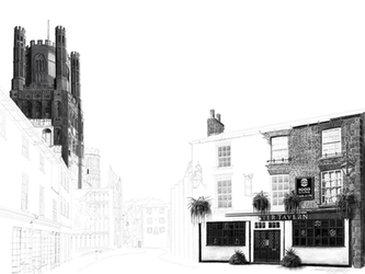 The Minster Tavern Pub, Ely - WIP by ianmckendrick