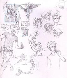 Sketchpage by fayrenpickpocket