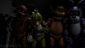 ''These Are My Friends'' (SFM Wallpaper) by myszka11o