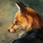 Clever As A Fox - SpeedPaint by GoldenDruid