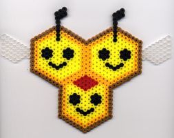 Combee in Perler Beads