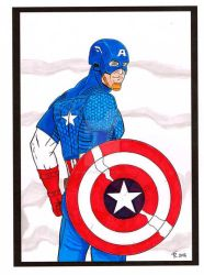 Captain america by rafgraphicart