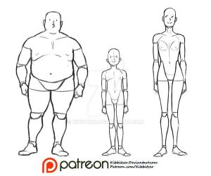 Body Types reference sheet