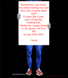 Just a fresh new Sonic movie meme by Transformer-Creps