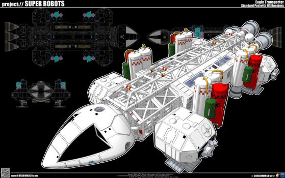 Eagle Transporter with Lift Boosters by cosedimarco