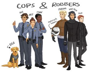 Cops and Robbers by aimeezhou