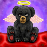 My Angel Bear by luvtuya