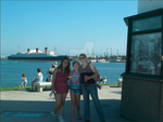 Me and family at long beach by Dolphingurl21stuff