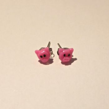 Little Pig Earrings by TigrisTreats