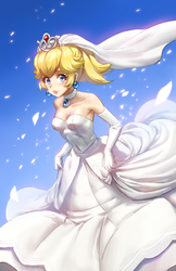 Wedding Peach by AthenaWyrm