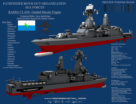 Ramia Class Guided Missile Ship by Stealthflanker