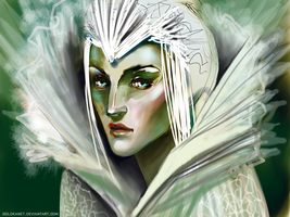 Snow Queen by GoldKanet